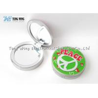 Buy cheap Compact Round Custom Pocket Makeup Mirror OEM For Promotional from wholesalers