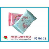 Buy cheap Mini Size Baby Wet Wipes For Hand / Mouth Cleaning 10PCS Flowpack product