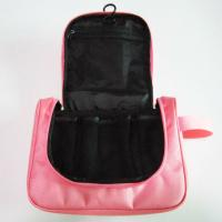 Buy cheap Hanging Travel Toiletry Bag Organizer Pink Color For Womens product