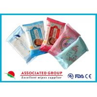 Buy cheap Fragrance Free Baby Cleaning Wipes With Aloe & VE Skincare Ingredients 10pcs product