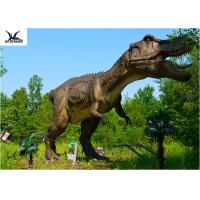 Buy cheap Life Size Tyrannosaurus Rex Dinosaur Replica , Life Like Garden Animals  product