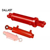 Buy cheap Agricultrual Double Acting Hydraulic Ram Steel Custom Chromed Cylinder Piston Type product