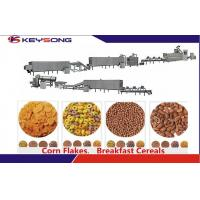 Buy cheap Reliable Breakfast Cereal Making Machine Breakfast Cereal Production Line from wholesalers