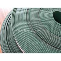 Buy cheap Food Grade PVC Cleat 4mm Flat Rubber Conveyor Belting Durable Straight Grain product
