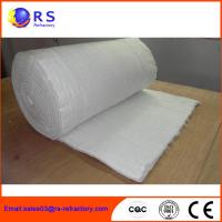 Buy cheap Fireproof Refractory Ceramic Fiber Blanket Insulation For Industrial / Steel product