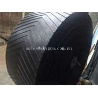 Buy cheap Heat Resistant Rubber Conveyor Belt With 10-24Mpa Tensile Strength , 5-30mm Thickness product