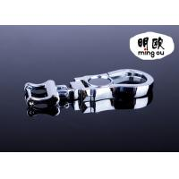Buy cheap Custom Shaped Silver Metal Bag Key Holder , Zinc Alloy Dog Clip For Your Bag product