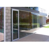 Buy cheap Low Iron 8mm Safety Tempered Glass Panels For Outdoor / Indoor /  Window product
