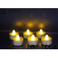 Buy cheap Indoor / Outdoor Led Tea Light Candles With Dusted  Long Operating Life set of 6 product