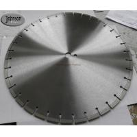 Buy cheap 500mm diamond concrete cutting saw blade for hard reinforced concrete from wholesalers