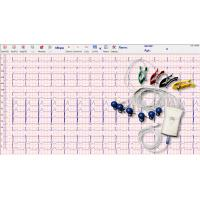 Buy cheap Grey White Handheld Ecg Monitor 12 Lead 10 Wire With Usb Cable Connection from wholesalers