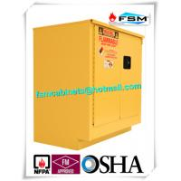 Steel Flammable Safety Cabinets With Self Latch Sliding Door For Gasoline / Pesticide