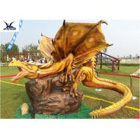 Buy cheap Jurassic Dinosaur World Dinosaur Yard Statue Simulated Pterosaurs Statue product