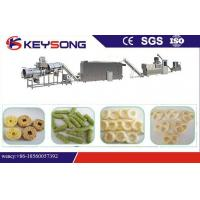 Buy cheap High Efficiency Corn Extrusion Snacks Food Machinery , Big Capacity Food Extruder Machine product