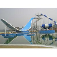 Fiberglass Material Water Park Playground Equipment 8.8M Width Applied Swimming Pool
