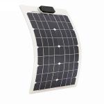Buy cheap 50 Watt RV Flexible Solar Panels PET Front Sheet 4.44A 18V Impact Resistant product