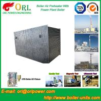 80 Ton Gas Boiler Air Preheater In Thermal Power Plant , Air Pre Heater