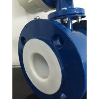 Gasoline Stainless Steel Electromagnetic Flow Meter with Rubber Linging