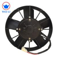 Universal electrical cooling radiator condenser fan for bus, auto cooling fan