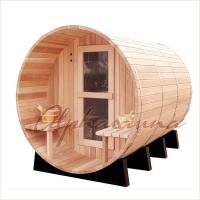 Buy cheap Outdoor Dark Red Cedar Spas And Hot Tubs Bath Barrels , home spas and hot tubs product