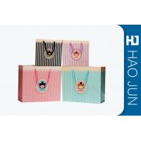 Buy cheap Color Printed Cardboard Shopping Bags , Fashional Paper Carry Bags product