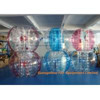 Buy cheap Customized Double Inflatable Human  Bubble Ball Football Bubble from wholesalers