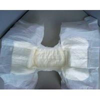 Adult cloth diaper with four side tapers