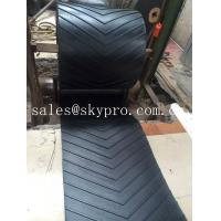 Buy cheap 400-2500mm Width Chevron rubber conveyor belt for inclination conveying product