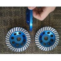Buy cheap 5inch 125mm Turbo Cup Wheel , 5 Diamond Grinding Disc For Concrete from wholesalers