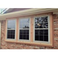 Buy cheap Non-deformation Aluminium Vertical Sliding Double Glazed Fireproof Window from wholesalers