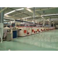 PVC Carpet Backing Machine / Tile Production Line CNC Cutting For Sizes Desired