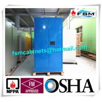 Industrial Corrosive Chemical Storage Cabinets With Adjustable Shelf Double Door