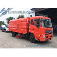 Buy cheap 10T Dongfeng Kingrun Street Sweeper Truck With Dry Dust / Wet Dust Suction from wholesalers