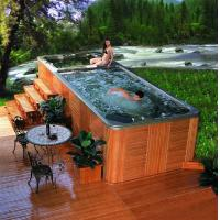 Buy cheap Swimming spa khufu-8824spa product