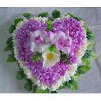 English flower-heart-purple
