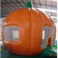 Buy cheap Round orange Inflatable Outdoor Yard Party Tent For Trading Show product