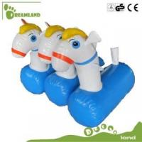 Buy cheap inflatable horse inflatable pony hop racing product