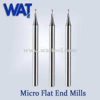 Buy cheap 2 Flute Micro Flat End Mills product