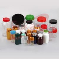 Buy cheap Customized Color Sport Nutrition Jar,Plastic Round Bottle product
