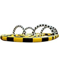 Buy cheap Inflatable track race, inflatable kart track ,inflatable sport games product
