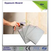 Buy cheap 1220*2440mm Exterior Grade Thickness Cartons Gypsum Board Sizes product