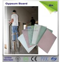 Buy cheap Plasterboard Type Common Outdoor Gypsum Board Installation product