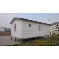 Buy cheap White Eco Friendly Prefabricated Mobile Homes / Light Steel Log Mobile Homes product