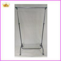 Buy cheap Cloth rack supplier Folable metal single bar laundry drying rack product