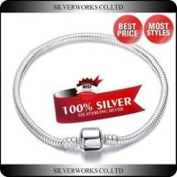 European Fashional 16-21cm Snake Chain Fit Beads And Charms 925 Sterling Silver Chain