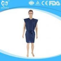 Buy cheap Disposable nonwoven clothes sauna gown for spa and foot bath center product