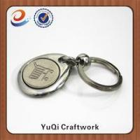 Buy cheap High quality new design promotional metal coin holder keychain product