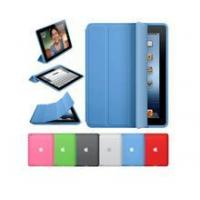Buy cheap Hot sale PU blue 3 folding smart Cover for ipad mini product