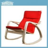 Buy cheap Red Bent plywood armchair chaise longue leisure chair from wholesalers