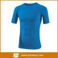 Buy cheap blue color men running Tshirt with short sleeve product